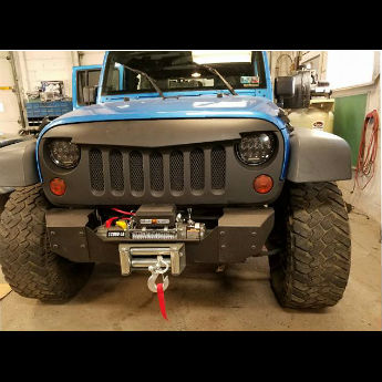 Blue Jeep After