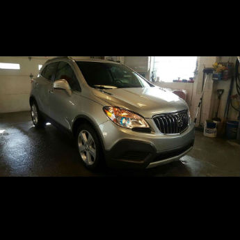 Silver SUV After
